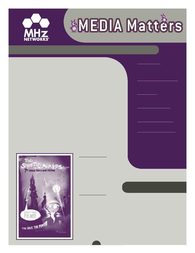 MHz Networks - Newsletter 11 07