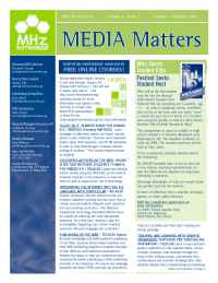 MHz Networks - Newsletter 12 05 1