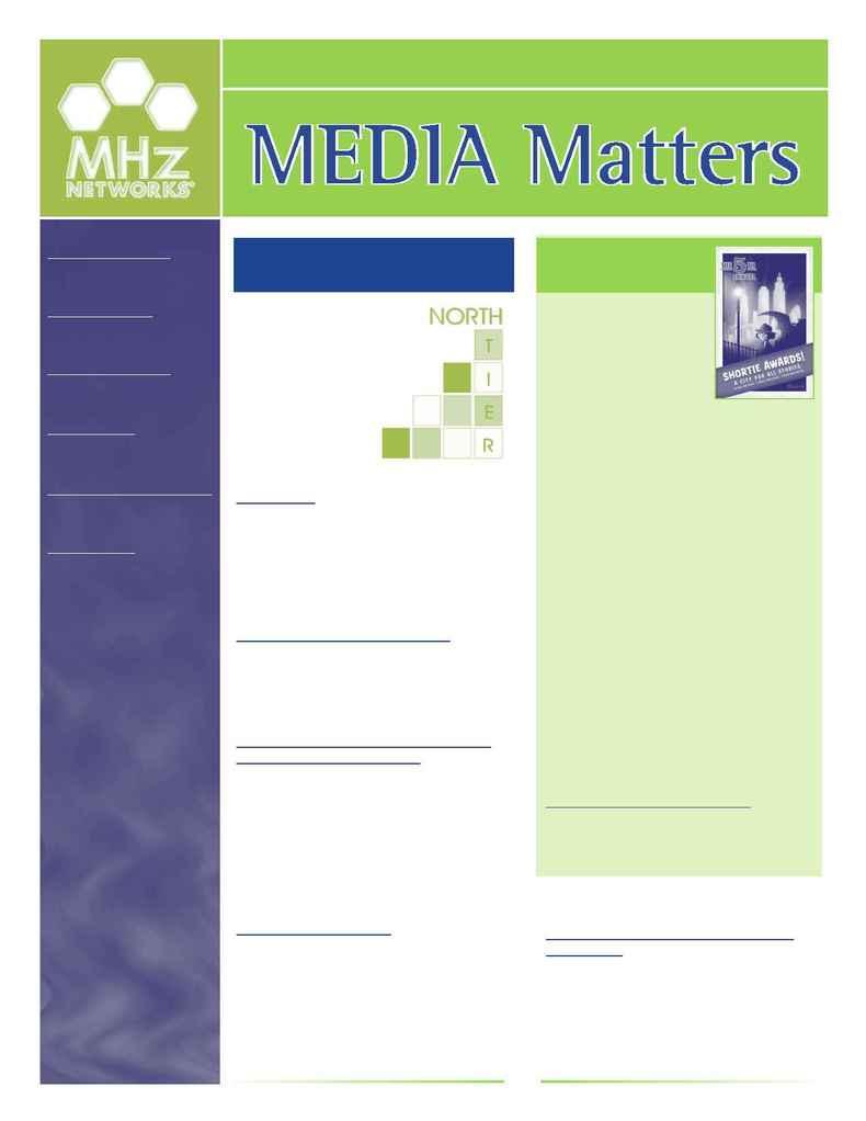 MHz Networks - Newsletter 12 05 1