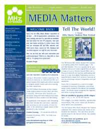 MHz Networks - Newsletter 9 05