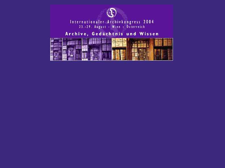 International Congress on Archives 2004 - pres 235 SHAPLEY CIT 01 E