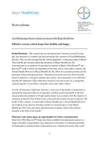 Bayer Animal Health - International Animal Health Portal - 2005 0046 E