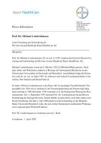 Bayer Animal Health - International Animal Health Portal - Londershausen D