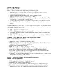 The Gilder Lehrman Institute of American History - questions 11