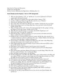 The Gilder Lehrman Institute of American History - questions 3