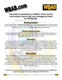 WBAB FM 102.3/WHFM FM 95.3 - wbabcom advertising information