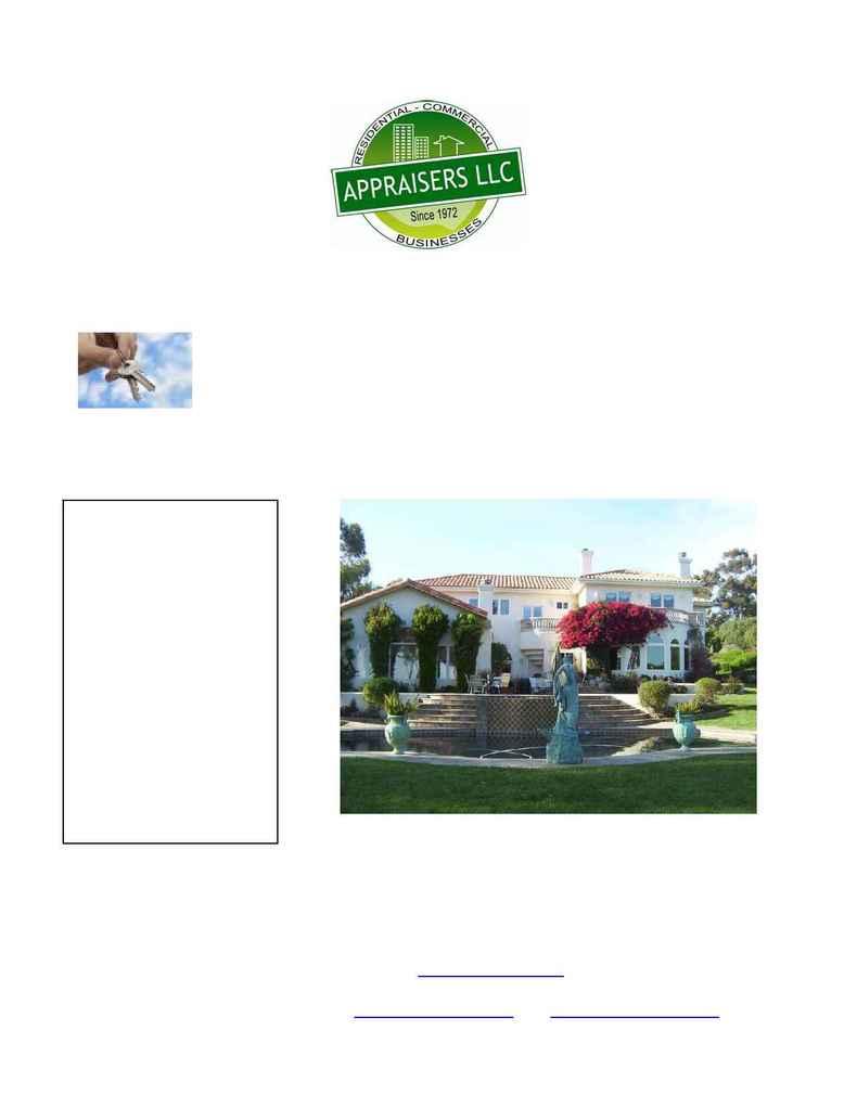 Appraisers, LLC - featured appraisal problem high value properties