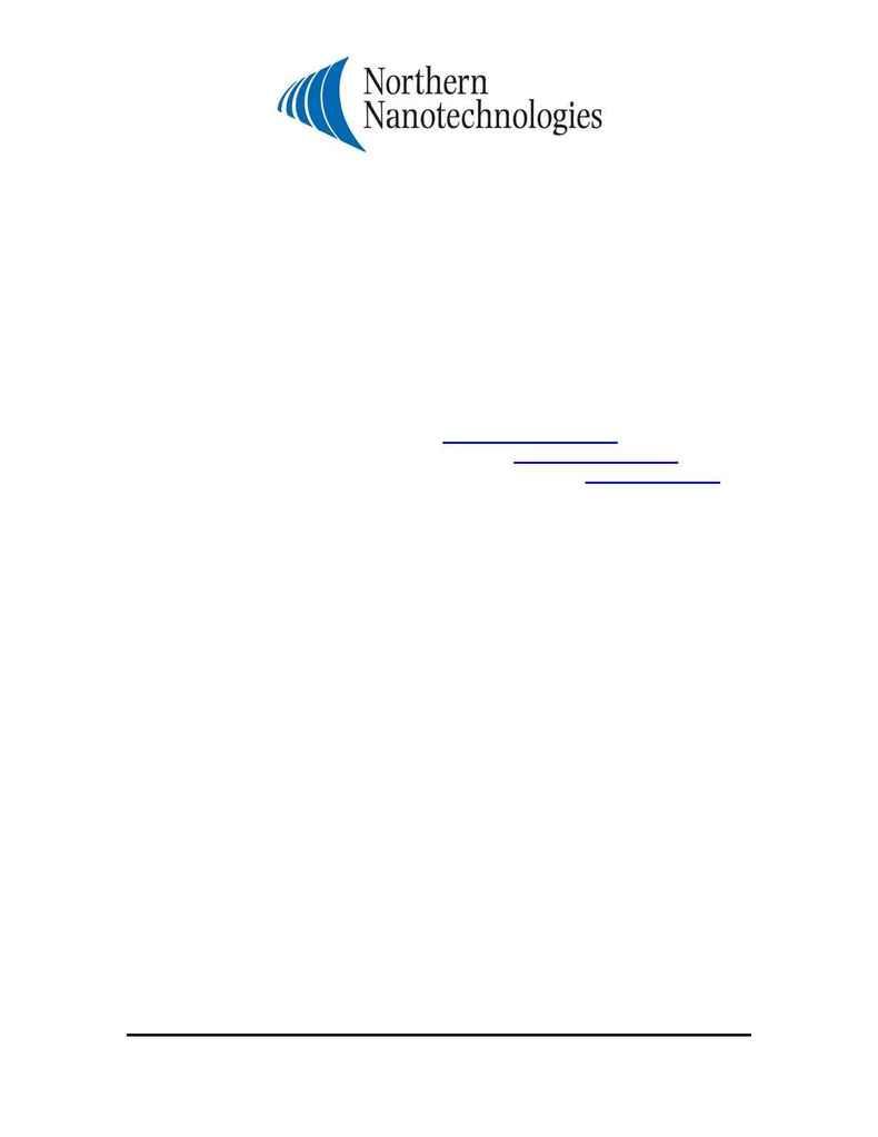 Northern Nanotechnologies - FS Zn S rev 1 0