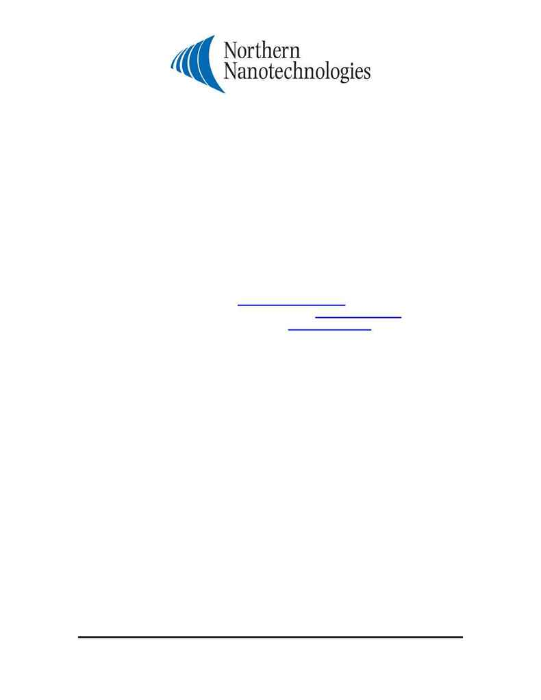Northern Nanotechnologies - MSDS Cd Te rev 1.2 Eng