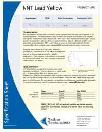 Northern Nanotechnologies - pbcr specs
