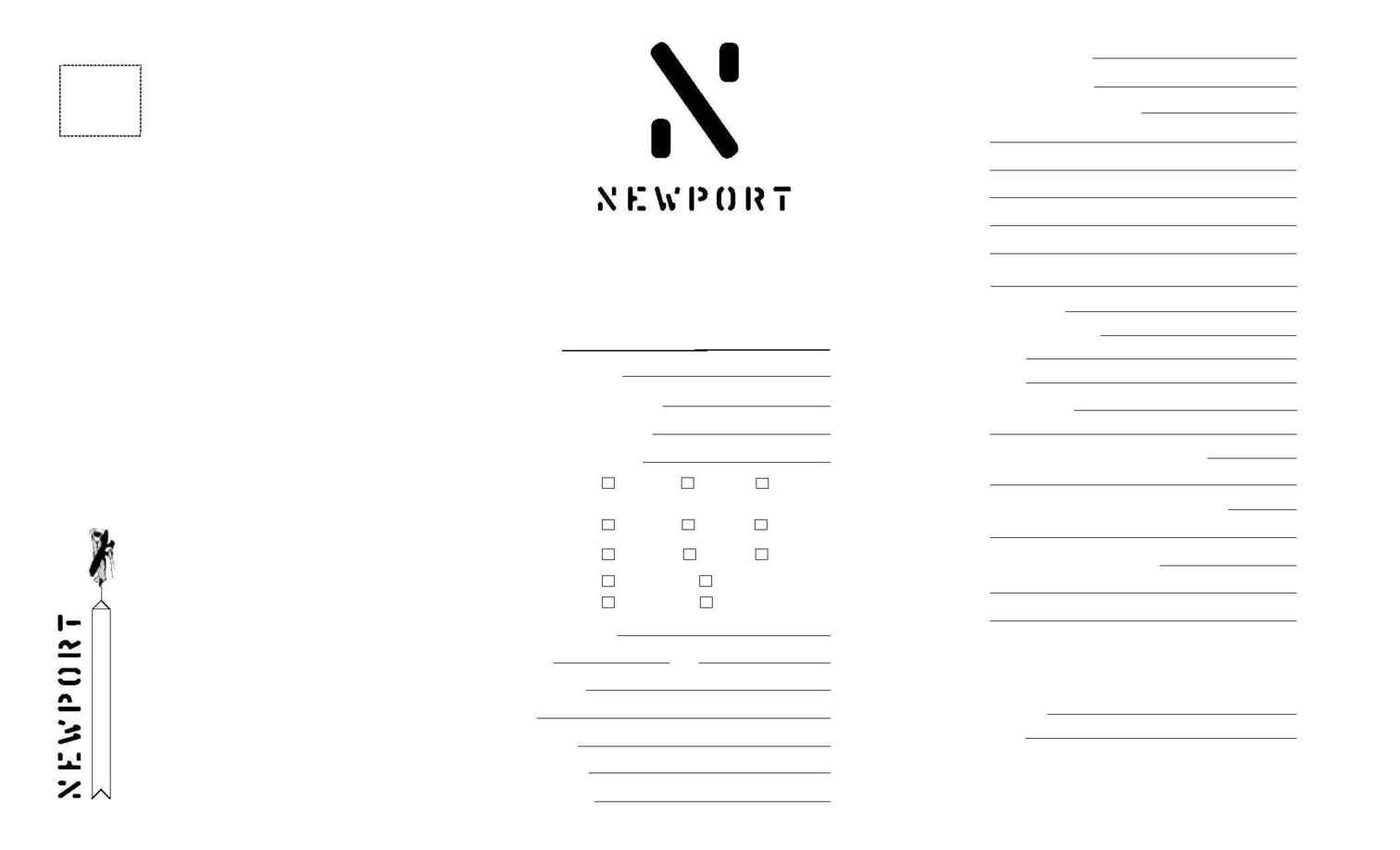 Newport Film Festival - niff application 2002