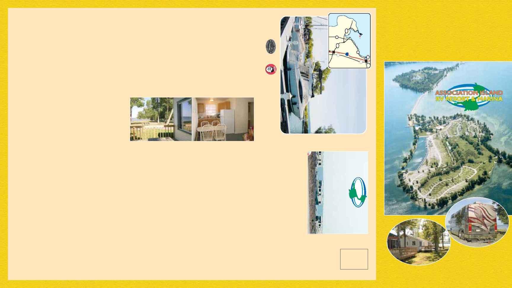 Association Island RV Resort and Marina - AIRM Brochure