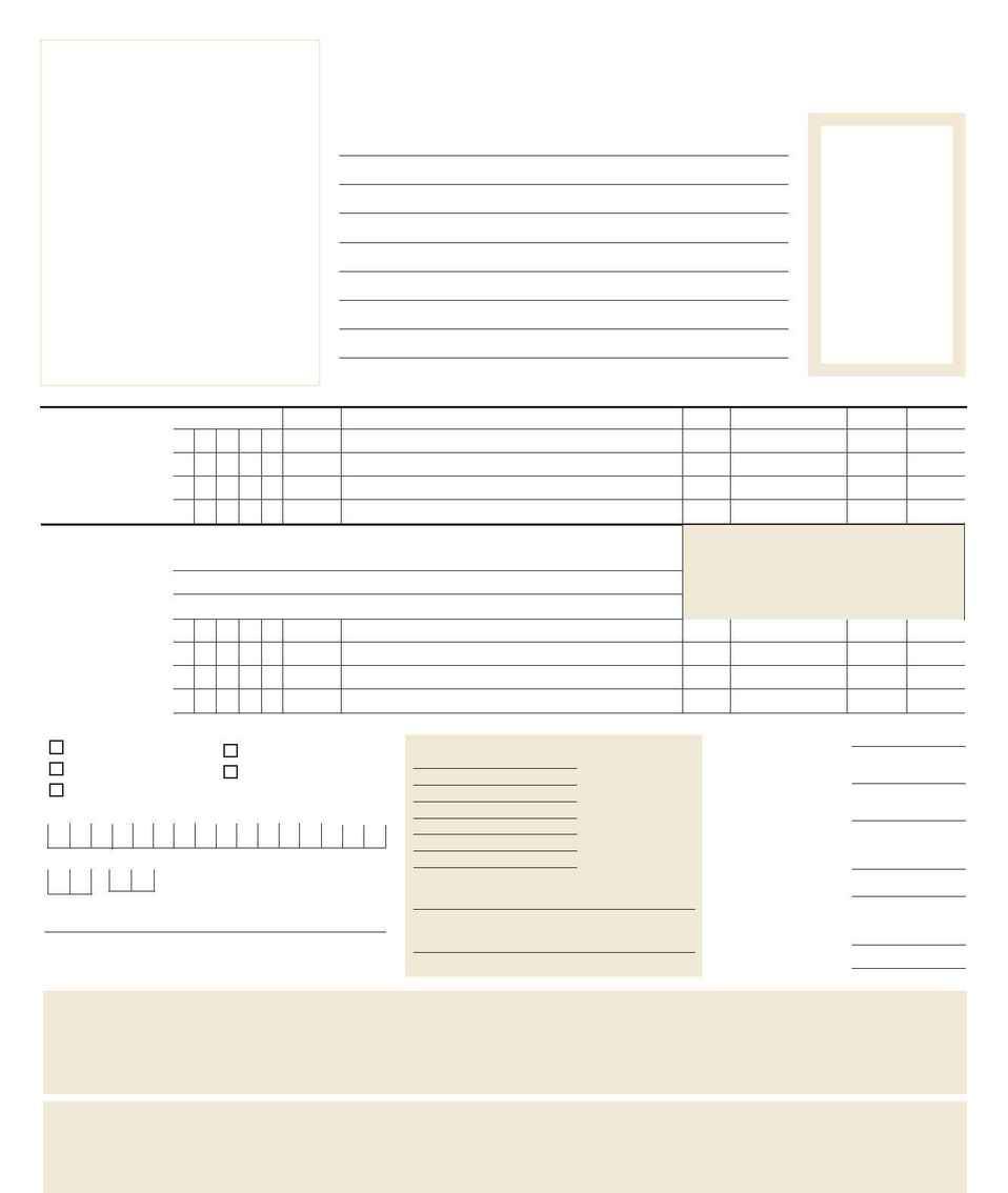 Frontgate - FG Order Form