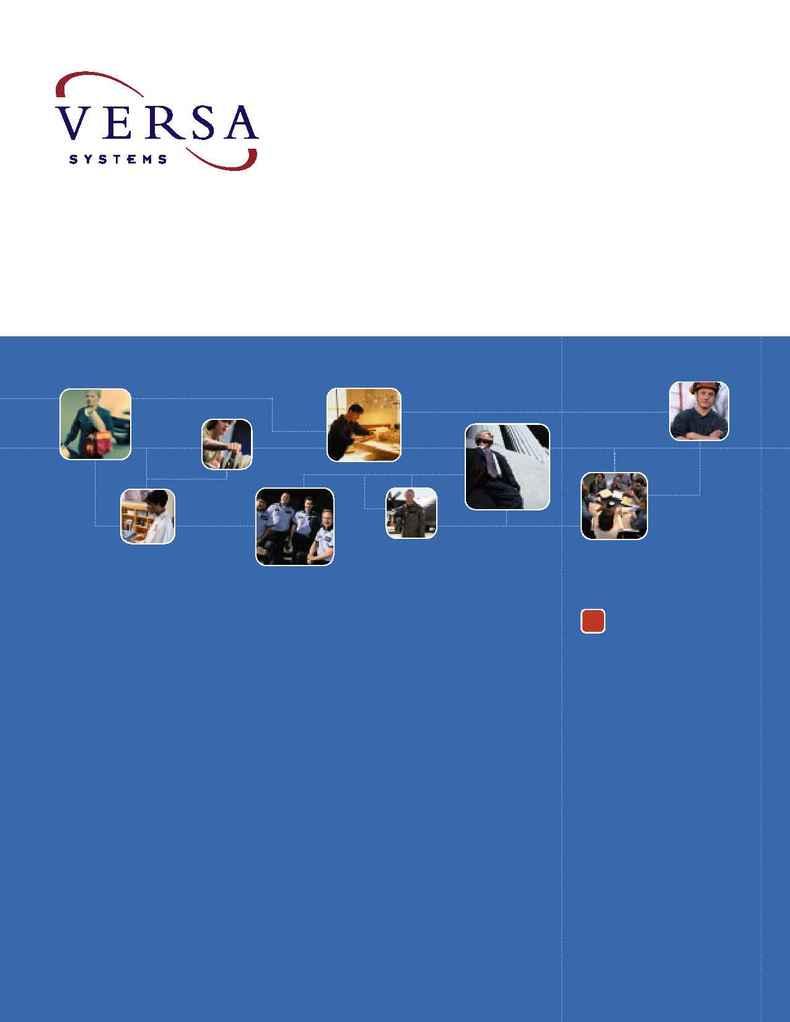 Versa Systems - v1 licenseease