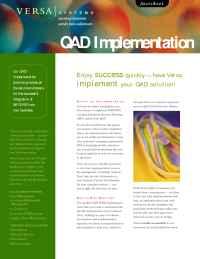Versa Systems - qad
