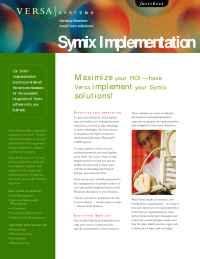 Versa Systems - symix