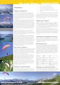 Alpine Adventure Sports - learn to paraglide abroad