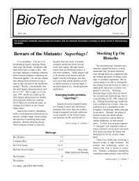 BioTech Navigator Investment Newsletter - News 3 98