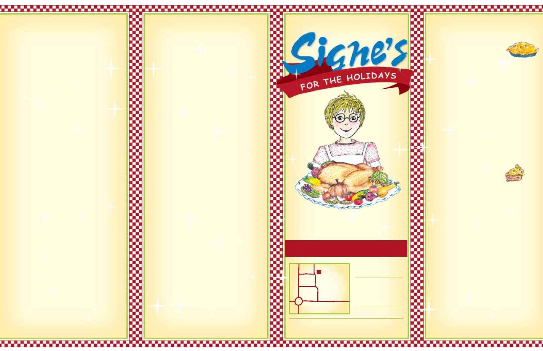 Signe's Heaven Bound Bakery - Signe's Holiday Menu