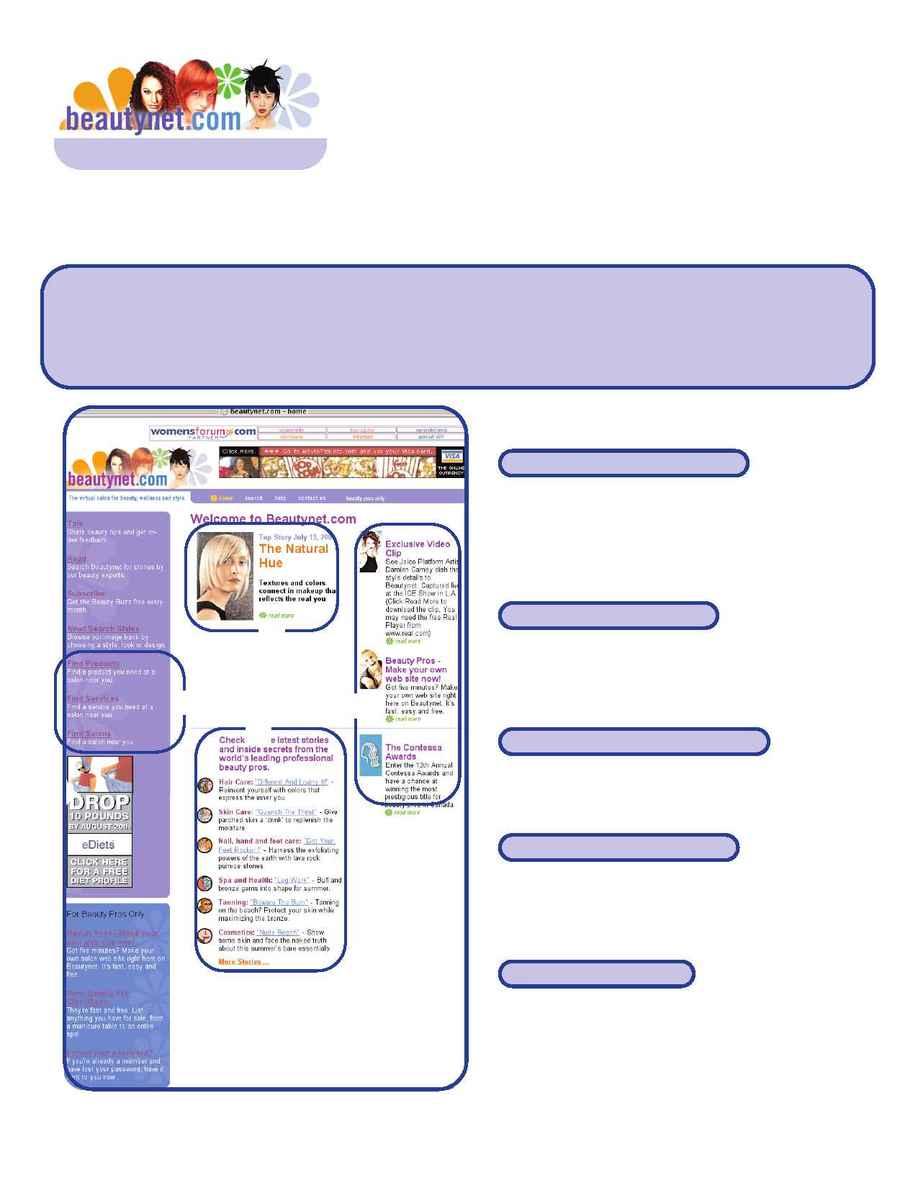 Beautynet - Beautynet ad info