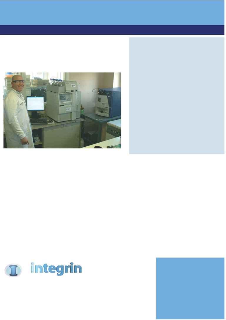 Integrin Advanced Biosystems - Issue one