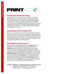 PrintAction - 2006mediakit