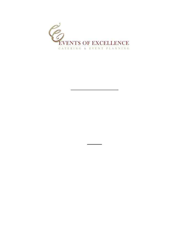 Events of Excellence - breakfast