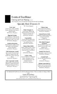 Events of Excellence - specialty hors doeuvres.2