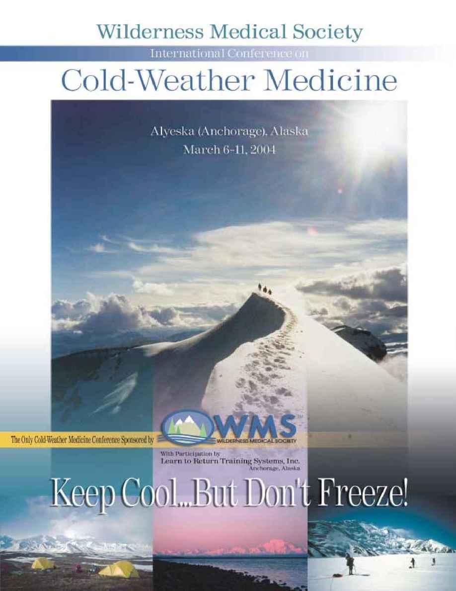 Wilderness Medical Society - Alyeska PDF
