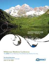 Wilderness Medical Society - Snowmass Brochure 2007