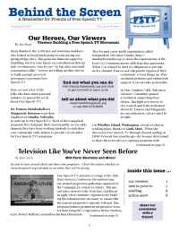 Free Speech TV Cable Project - Summer 2006 Newsletter