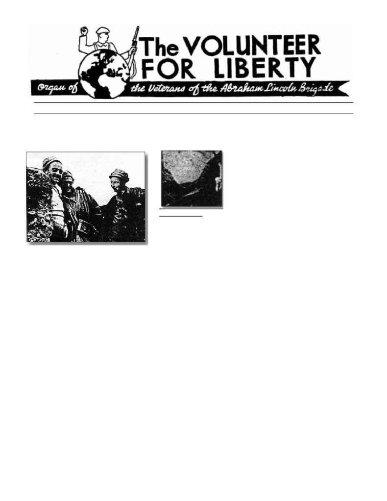 Abraham Lincoln Brigade Archives - vol 1938 12