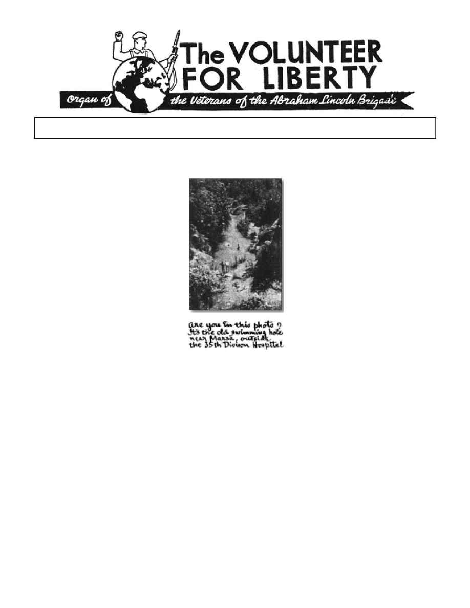 Abraham Lincoln Brigade Archives - vol 1939 12