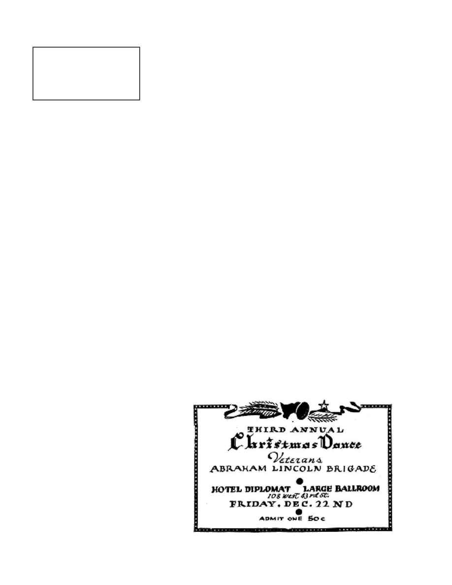 Abraham Lincoln Brigade Archives - vol 1939 12