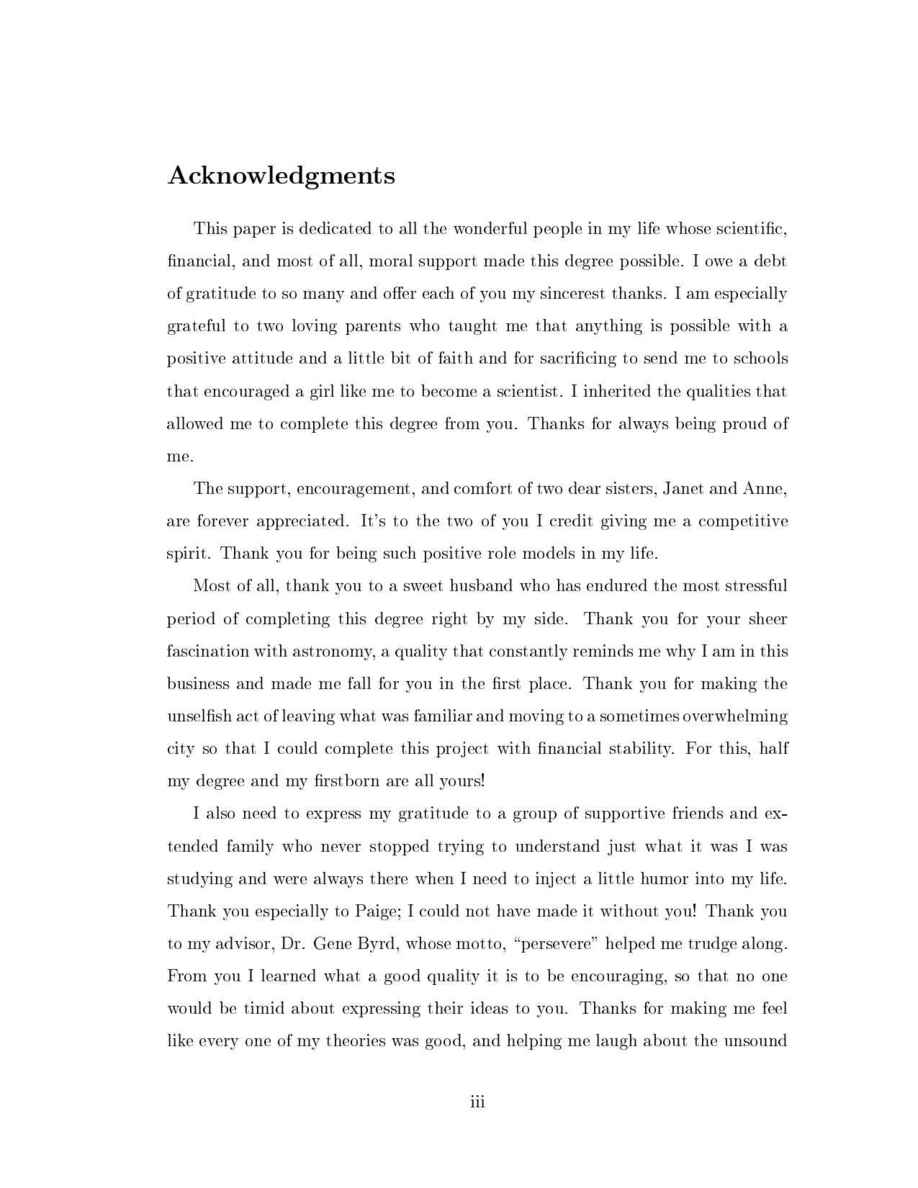 acknowledgement thesis parent A phd thesis by jeffrey s rosenthal submitted to the department of mathematics, harvard university, april 1992 phd supervisor: persi diaconis.
